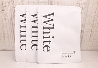 ホワイトバブル炭酸マスク
