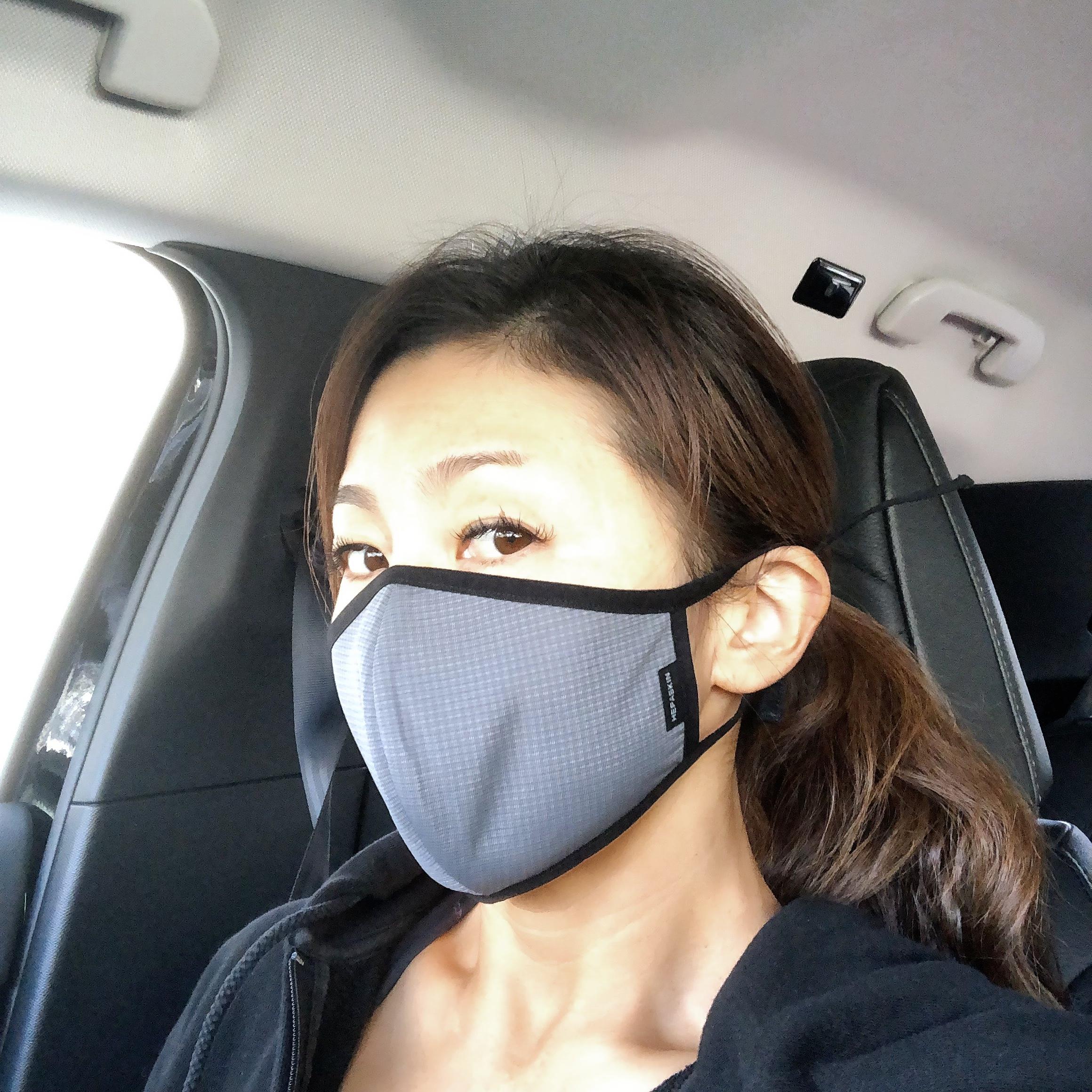 マスクでリフトアップ